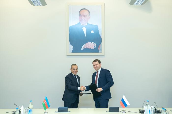 Azərbaycanla Rusiya arasında Niyyət Protokolu imzalanıb