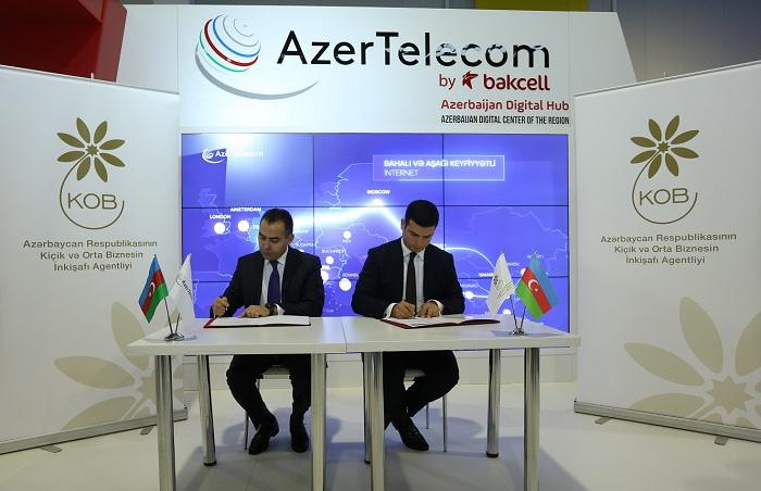 AzerTelecom və KOBİA əməkdaşlıq edəcək