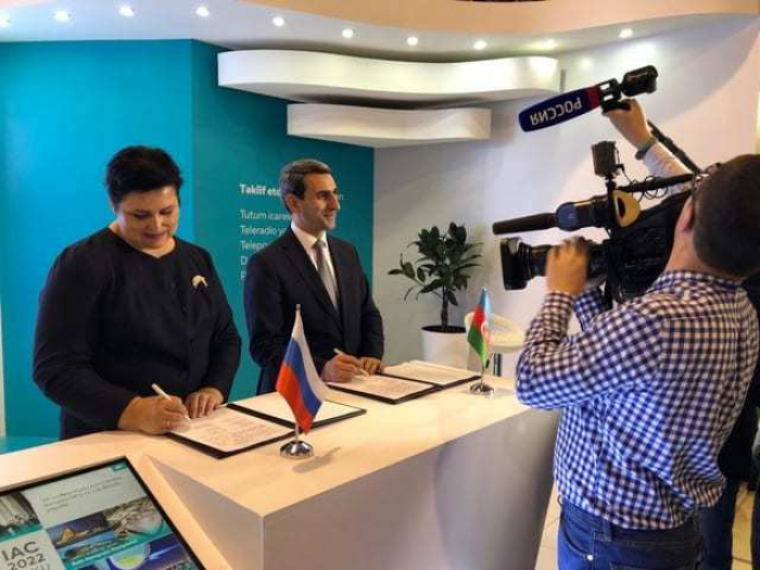 Azerbaiyán y Rusia proporcionarán servicios conjuntos de comunicación satelital y transmisión