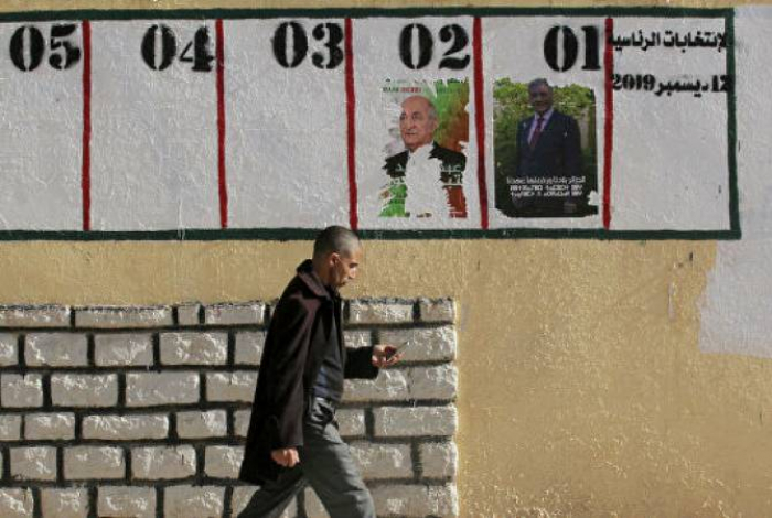 Əlcəzair xalqı yeni prezidentini seçir