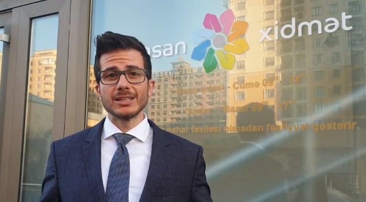 """ASAN xidmət"" İsrail səfirinin problemini həll etdi - VİDEO"