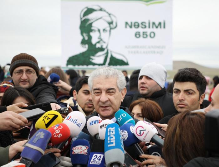 Viceprimer ministro  : Los árboles plantados servirán para mejorar el medio ambiente de Azerbaiyán