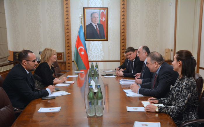 Azerbaijani FM receives newly appointed ambassador of Algeria to Azerbaijan