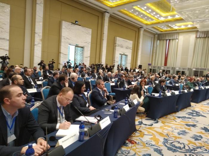 Azerbaijani MPs attend 8th Euronest PA session in Tbilisi