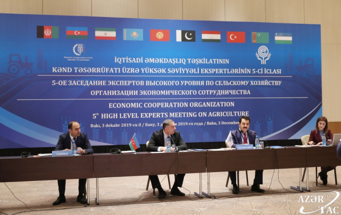 Baku hosts 5th ECO High Level Experts Meeting on Agriculture