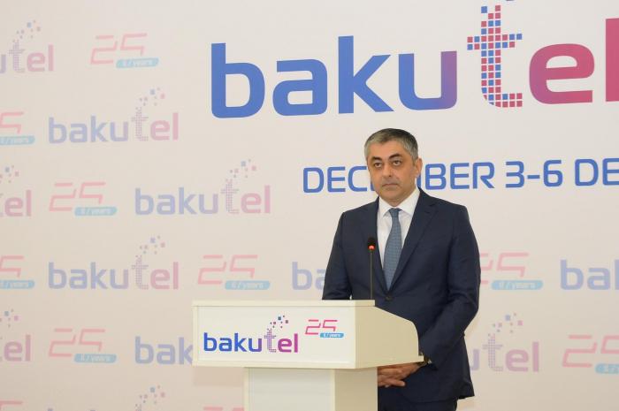 """""""Bakutel 2019"""" sərgisi öz işinə başlayıb - FOTO"""