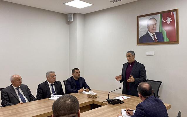 Board members of New Azerbaijan Party