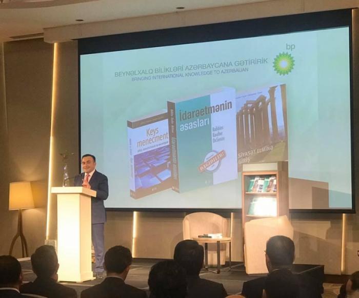 BP presents Azerbaijani language edition of three internationally recognized textbooks
