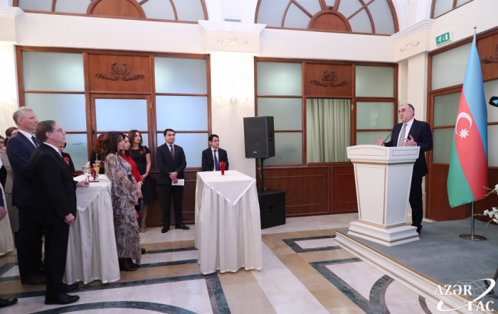 Heads of diplomatic corps in Azerbaijan attend reception on 2019 outcomes