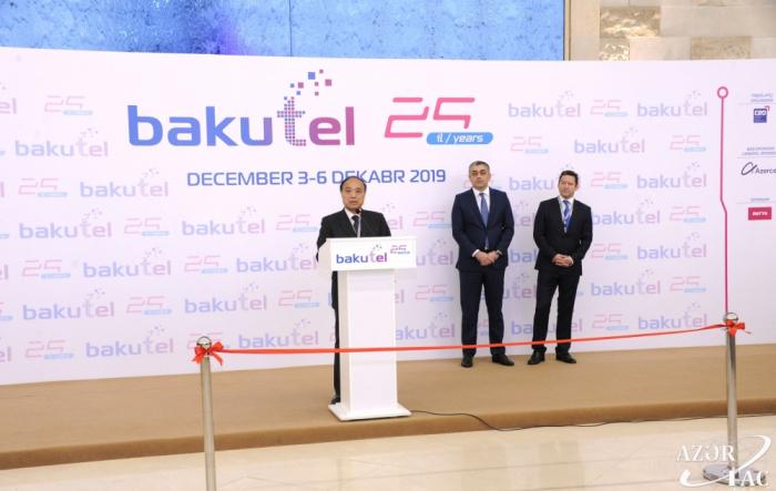 """Se inauguró la XXV edición de la Exposición Internacional de Telecomunicaciones, Innovaciones y Altas Tecnologías de Azerbaiyán """"Bakutel"""""""