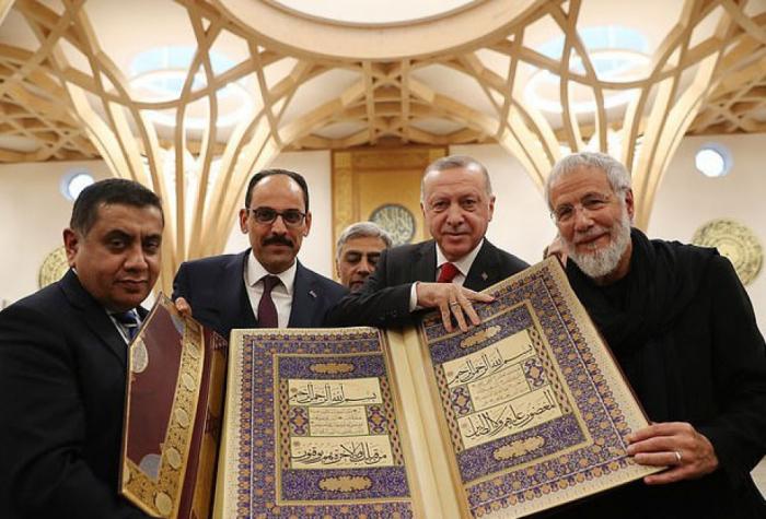 Erdogan opens Europe