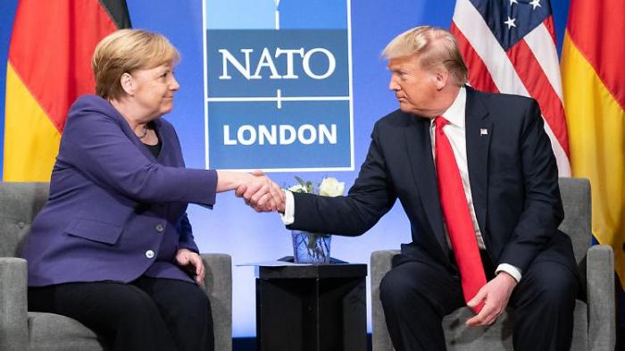 "Trump lobt Merkel als ""fantastische Frau"""