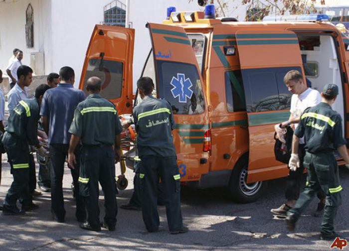 Collision between minibus, truck leaves at least 22 people dead in northern Egypt
