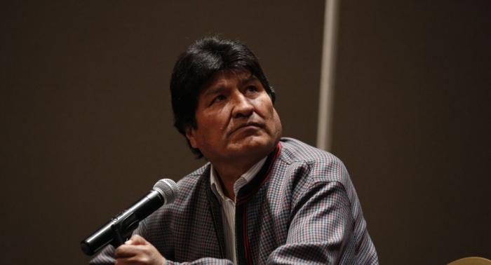 Former Bolivian President Evo Morales departs for Cuba
