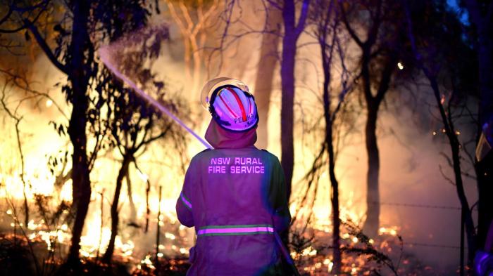 Fumées toxiques en Australie: le Premier ministre sort du silence