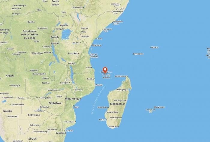 Alerte cyclonique sur les Comores