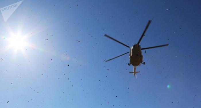 At least 3 injured as Russian Mi-8 helicopter crash-lands in Krasnoyarsk Region