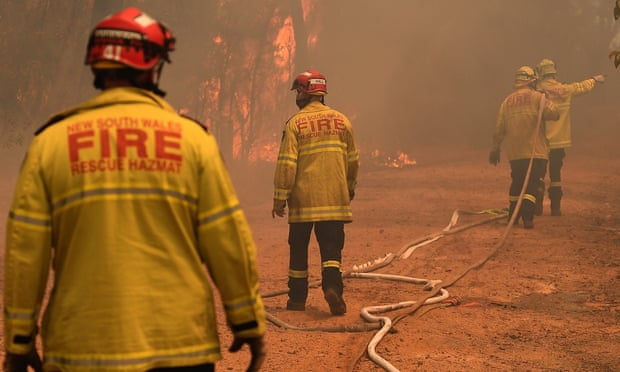 Australia experiences hottest day on record and its worst ever spring bushfire danger