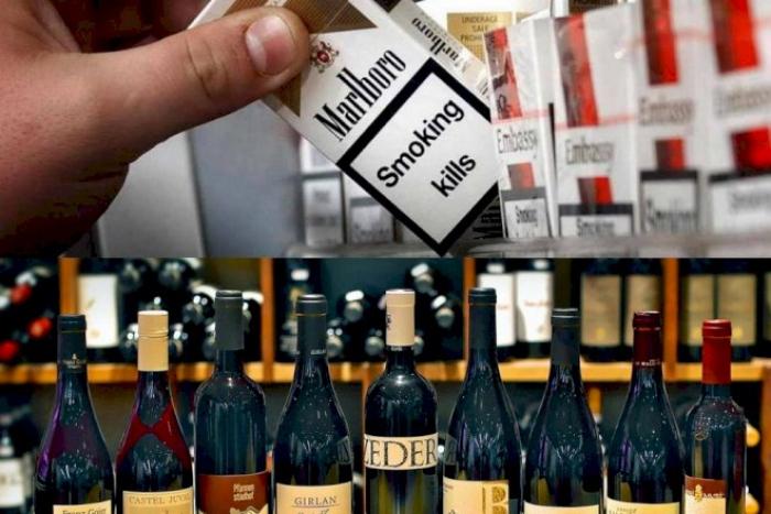 Tütün, spirtli və enerji içkilərinin aksiz vergisi artırılıb