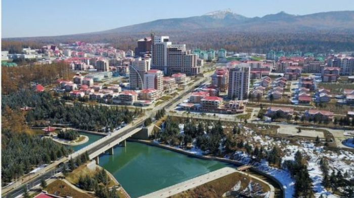 "North Korea unveils town hailed as ""epitome of civilisation"""