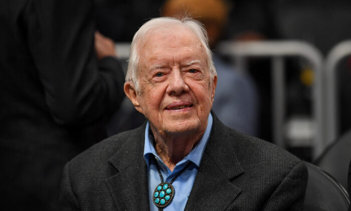 Former US president Jimmy Carter admitted to South Georgia hospital