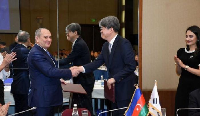 Azerbaijani, Korean Statistical Committees sign memorandum