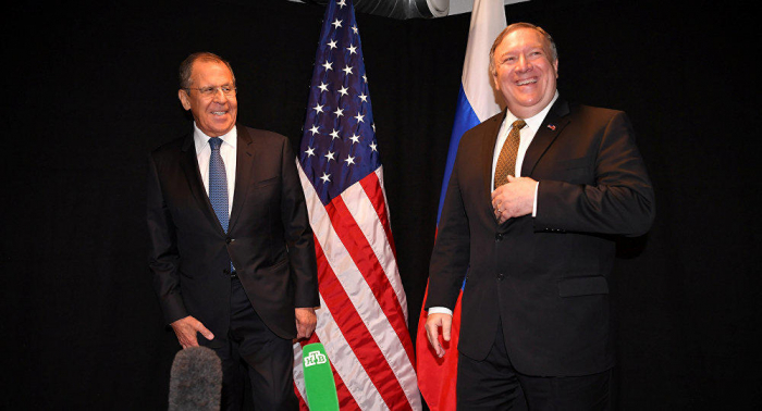 Lavrov Pompeo ilə Suriya və Ukraynanı müzakirə edəcək