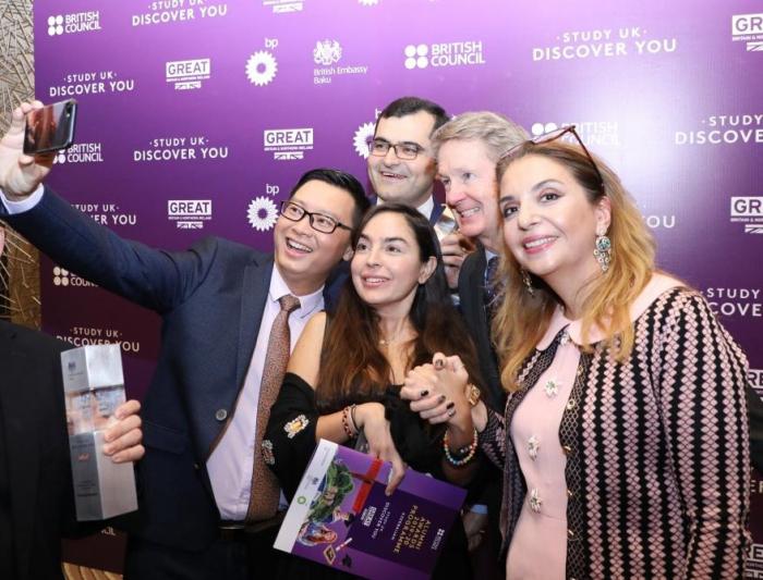 """Leyla Əliyeva """"Study UK Alumni Awards 2019""""un qalibləri ilə - FOTOLAR"""
