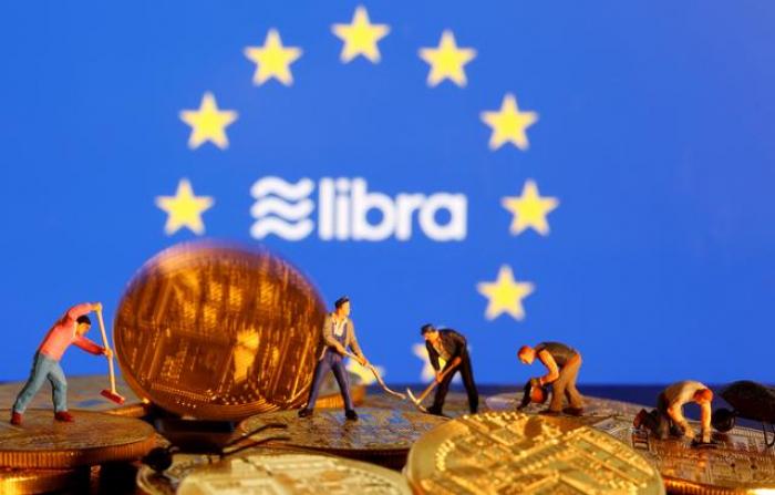 EU agrees tough line on digital currencies like Facebook
