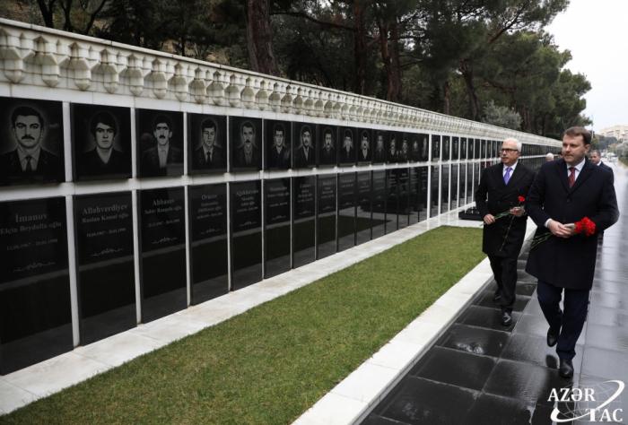 Ministro de Desarrollo Económico de Rusia visitó el Callejón de los Mártires