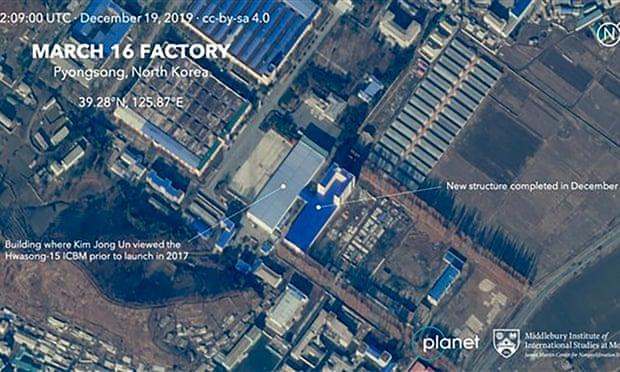New satellite images show expansion of North Korea long-range missile plant