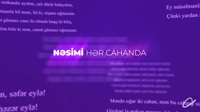 """Hər dildə Nəsimi - """"Azercell""""dən maraqlı VİDEO"""