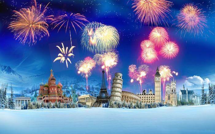 7 Strangest  New Year Traditions  Around The World