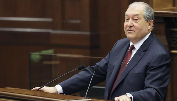 Ermənistan prezidenti Qarabağ bölgəmizə gəlib