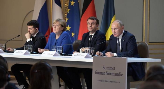 """""""Normand dördlüyü"""" liderləri nədən danışıb? - Paris görüşünün detalları"""