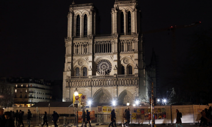 Notre Dame restoration work resumes in Paris amid Pandemic