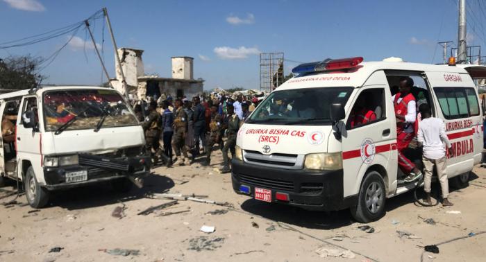 More than ninety people killed in car bomb blast in Somalia