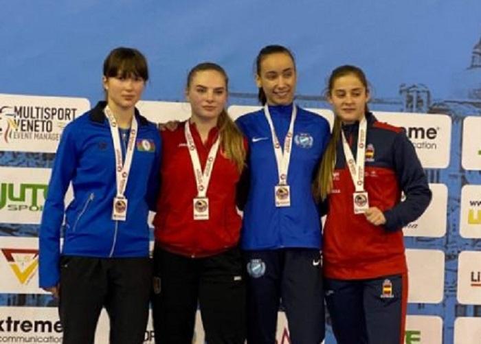 Azərbaycan karateçisi İtaliyada gümüş medal qazanıb
