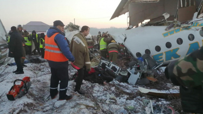 Rescue operations completed at Bek Air plane crash site in Kazakhstan's Almaty