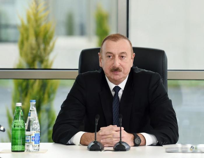 """İlham Əliyev: """"Mənim ümidim gənclərədir"""""""
