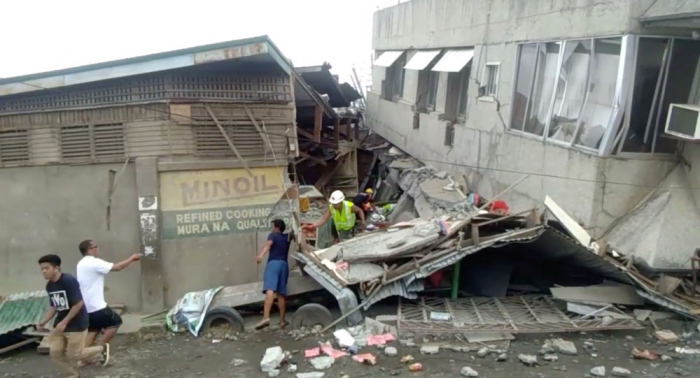 At least 7 people killed as result of earthquake in Southern Philippines