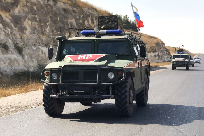 Suriyada partlayış - 3 rus hərbçisi yaralanıb