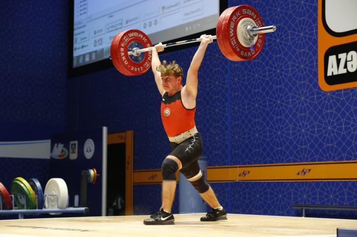 Rüstəm Qasımov Avropa birinciliyində bürünc medal qazandı