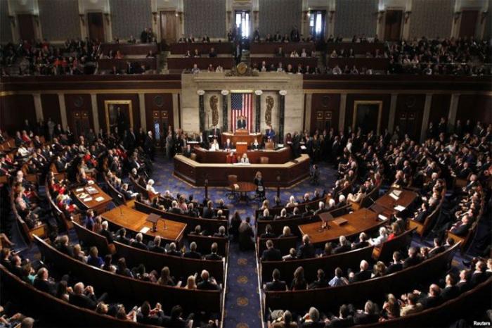 """ABŞ Senatı """"erməni soyqırımı""""nı tanıdı - Senator sevincdən ağladı"""