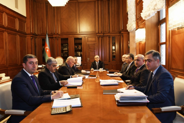 Cabinet of Ministers hosts meeting of SOFAZ Supervisory Board
