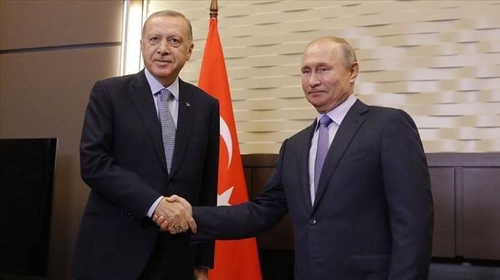 Erdogan et Poutine discutent de la situation en Syrie