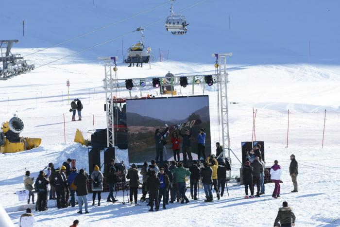 """""""Şahdağ"""" Turizm Mərkəzində xizək mövsümünə start verilib"""