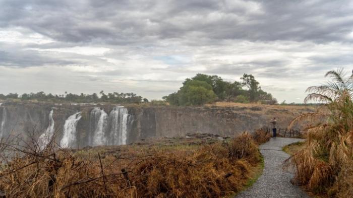 Victoriafälle von Dürre betroffen