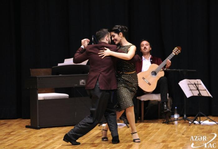 Se celebra la gala del tercer Festival Internacional de Tango de Bakú