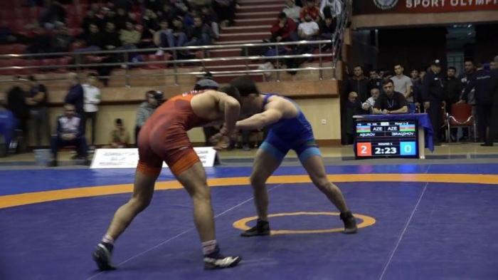 Azerbaijani freestyle wrestlers win five medals in Dagestan